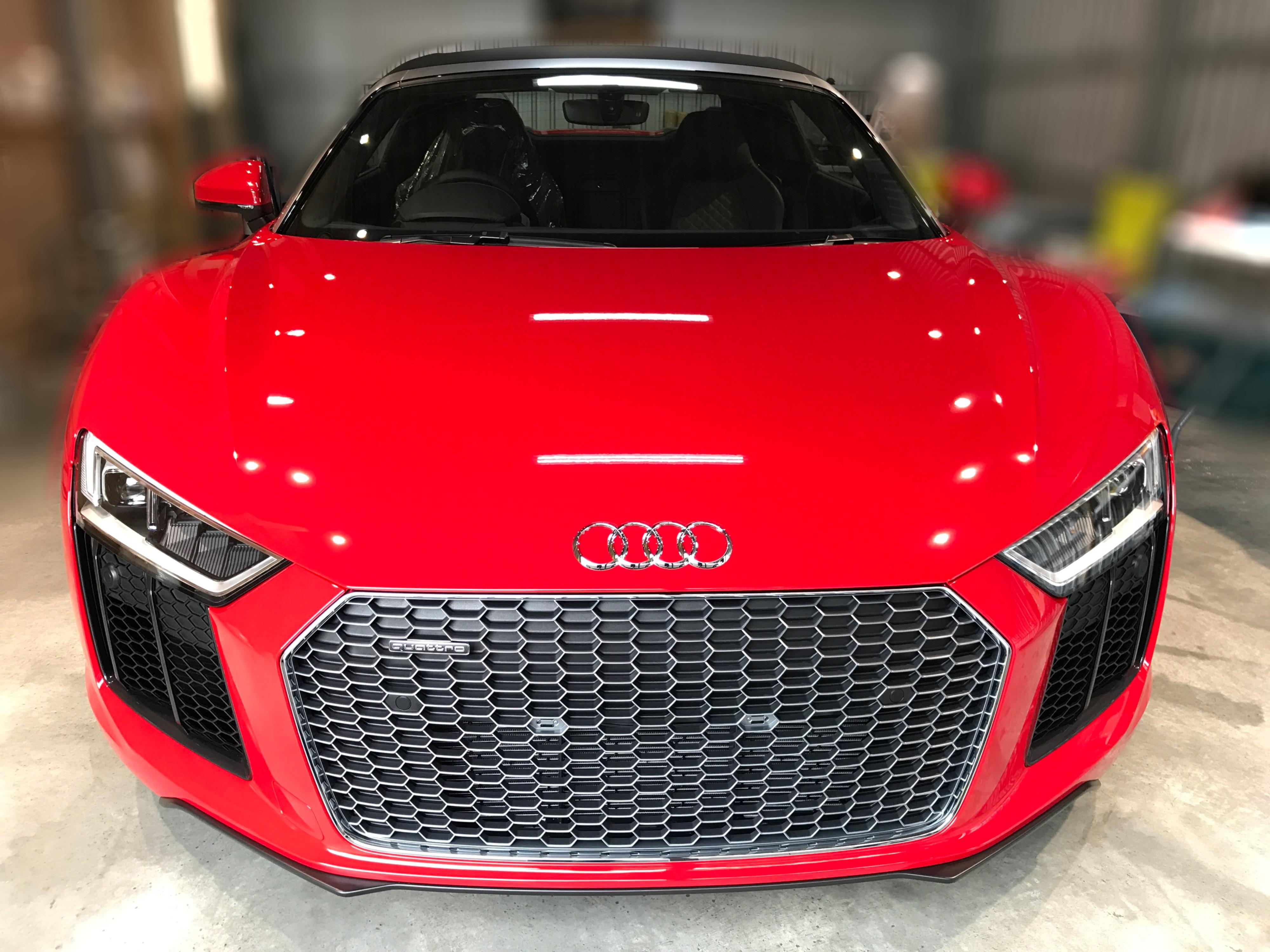 <p> こんにちは!craftech.カオリです。 過去施工の紹介です。 Audi R8 V1 […]</p>