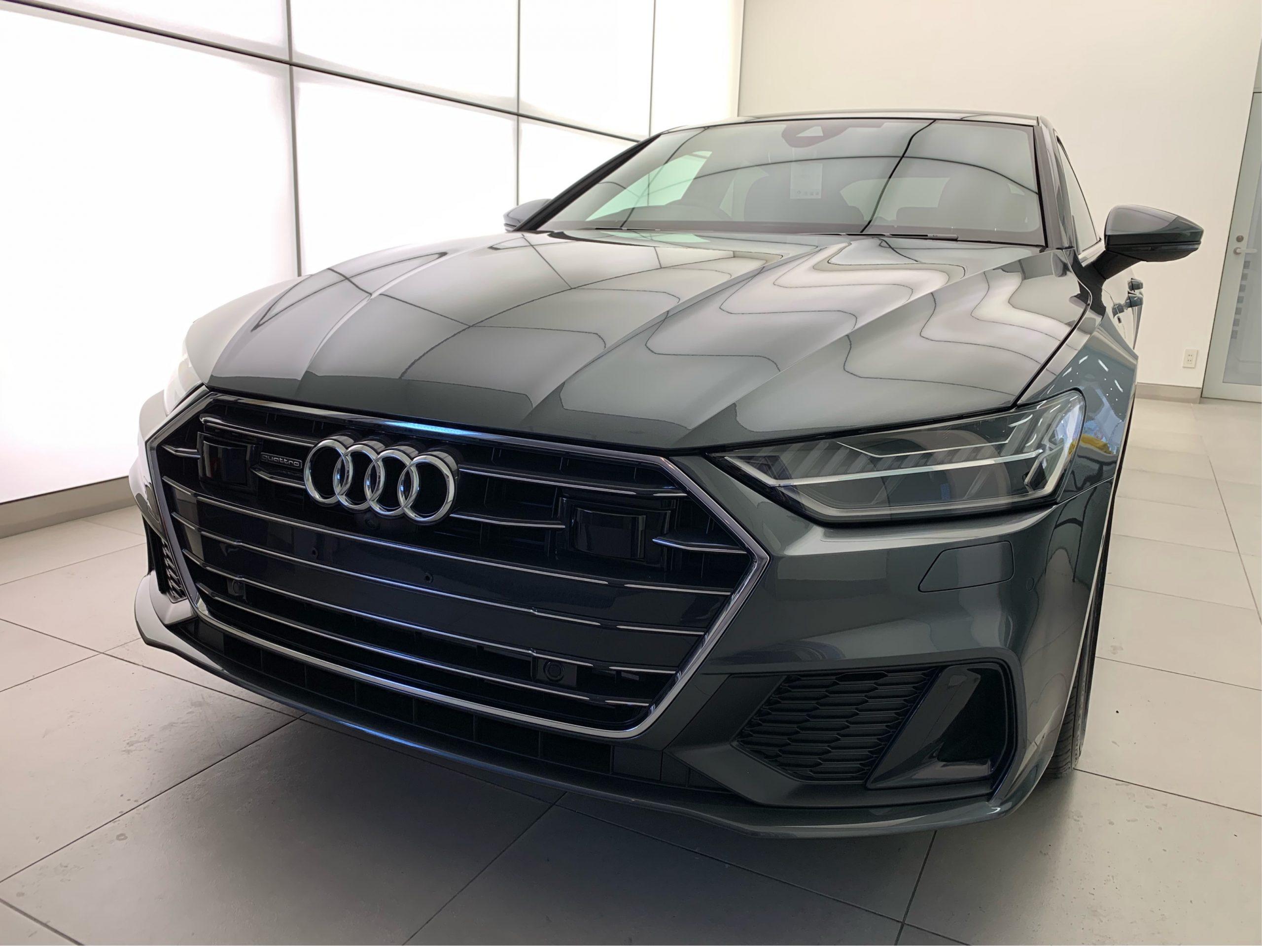 <p>こんにちは。craftech.カオリです。 今回は出張施工のご紹介。 Audi A7!! フロントグ […]</p>